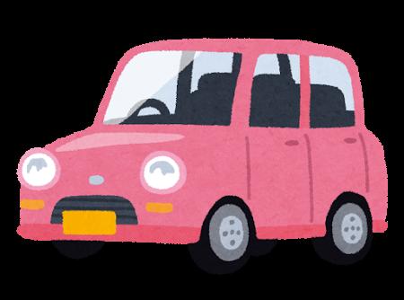 軽自動車イラスト