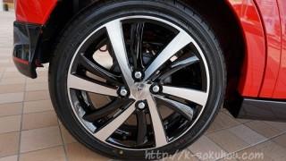 タイヤサイズとメーカーは何?|キャスト スポーツの外装レビュー2