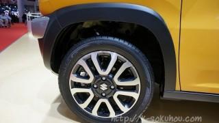タイヤサイズ&メーカーは何!?|ハスラーJスタイル2外装画像レビュー2