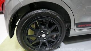 新型アルトワークスのタイヤサイズ&メーカーは何?【東モで確認】