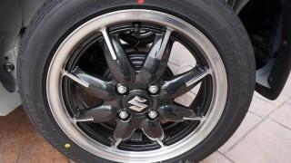 新型アルトターボRSのタイヤ画像レビュー。メーカー&ブランドを確認