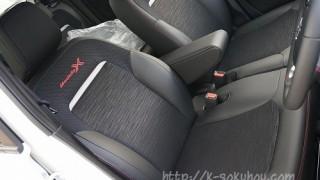 Nワン モデューロXのシート画像インプレ。標準車との違いを比較