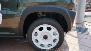 ハスラーのタイヤ&ホイール。4つのデザインの違い比較