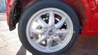 サイズ&メーカーはラパンと異なる!?新型アルトのタイヤをレビュー
