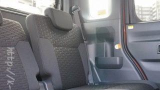 【足元空間も広い!?】ウェイクの後部座席の居住性・快適性の感想インプレ