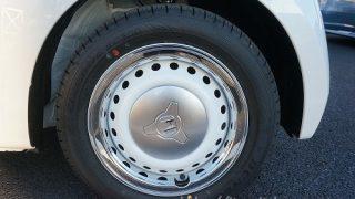 タイヤメーカー&ブランドは何!?Nボックス スラッシュの外装レビュー