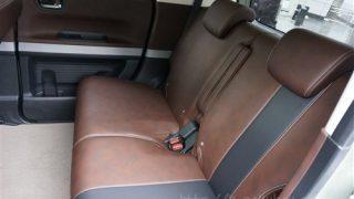 Nボックス スラッシュの後部座席レビュー。スライド幅はどれくらい?