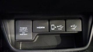 ホンダ新型フリードにはUSBは標準装備されているの?実車を確認してきた