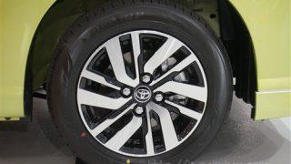タイヤ&ホイールに違いはある!?トヨタ タンクとルーミーを比較