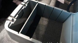 数も容量も抜群に良い感じ!?新型キャラバンNV350の収納スペース
