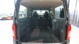 日産新型キャラバンNV350の荷室サイズを確認してみた【使い勝手は良い!?】
