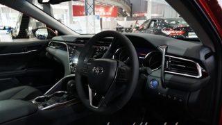トヨタ新型カムリの内装【3つのグレードのインテリアを実車画像で確認】