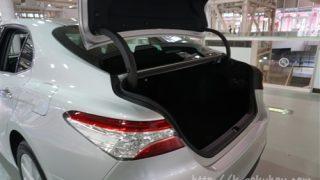 トヨタ新型カムリの荷室サイズ【競合車のアコードと比較してみた】