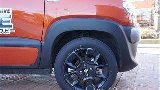 サイズ&メーカーをチェック!新型クロスビーのタイヤ画像レビュー