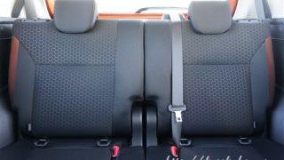 新型クロスビーの後部座席はリクライニングできる?快適性チェック
