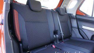 スズキ新型クロスビーの後部座席【イグニスのシートとの違いは?】