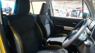 新型クロスビーのシートのデザインがMZとMXで異なる!?実車画像で違いを紹介