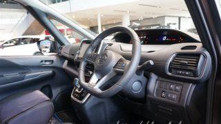 運転席周りのボタンに違いが!?新型セレナe-POWERとガソリン車