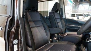 新型セレナe-POWERの運転席と助手席の間の幅は広い!?【計測してみた】