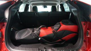 ゴルフバッグはいくつ収納できる?新型エクリプスクロスの荷室